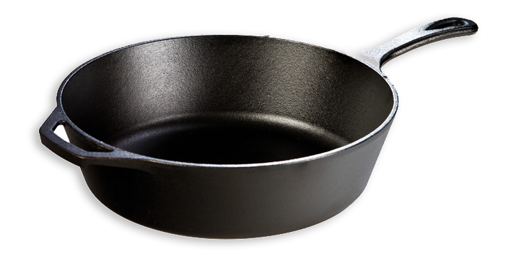 "Lodge 12"" Cast Iron Deep Skillet"