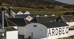 Ardbeg Distillery Islay Scotland