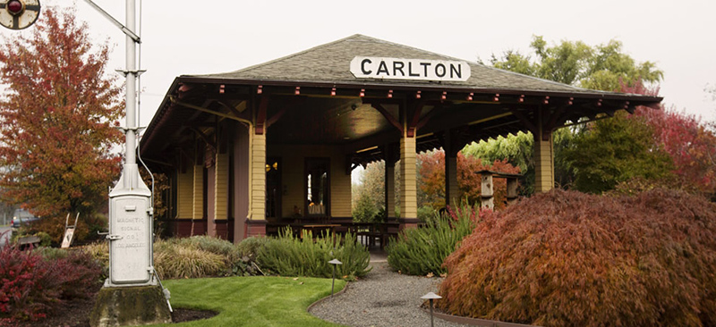 Ken Wright Cellars Carlton Station Tasting Room