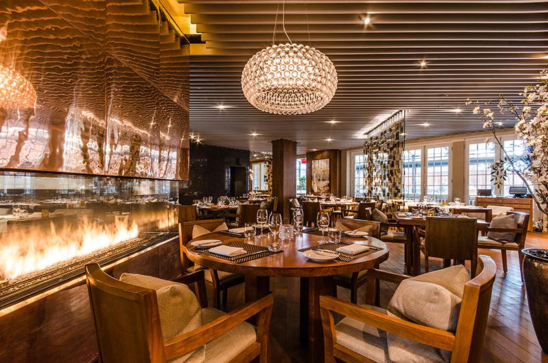Restaurant Maison Boulud in the Ritz-Carlton, Montreal