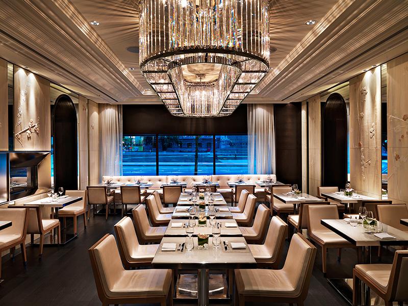 Hawksworth Restaurant pearl room