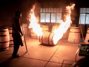 Bearface Whisky cooperage toasting oak barrels