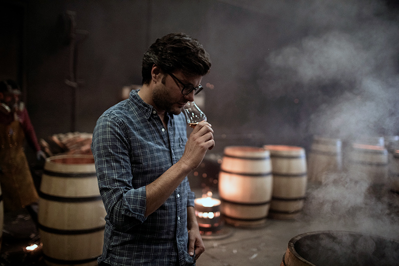 Bearface Canadian Whisky master blender Andres Faustinelli