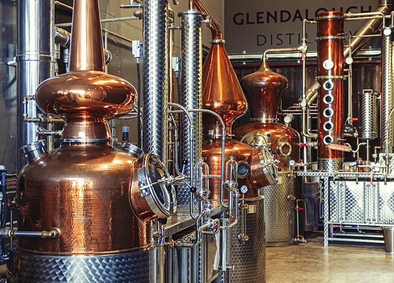 Glendalough Distillery pot still