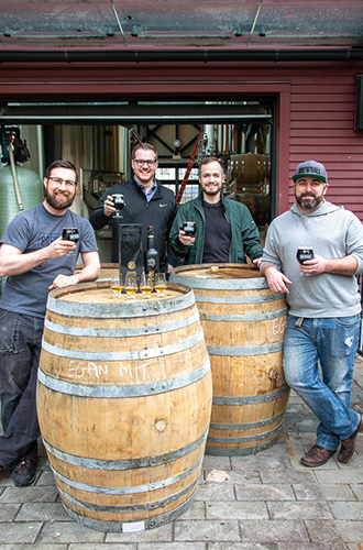 Egan Irish Whiskey stout