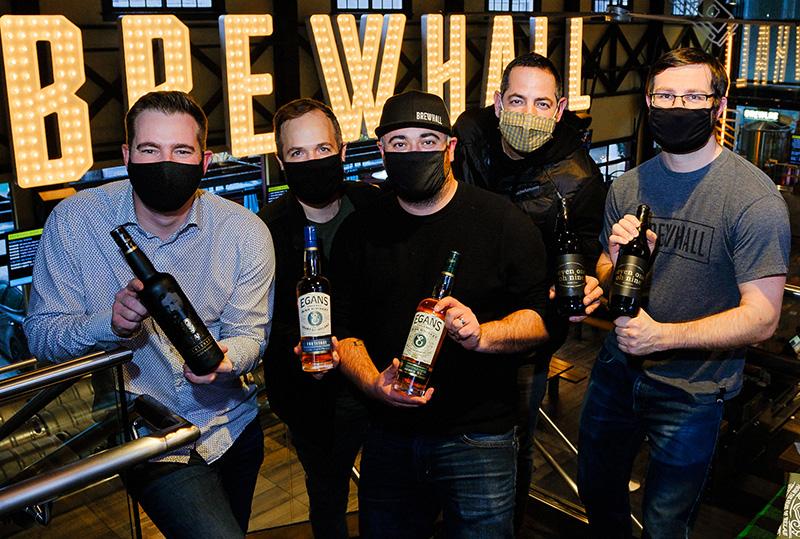 Egan Irish Whiskey at Brewhall